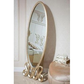 VIG Modrest Ravenna - Transitional Leaning Mirror In Gold
