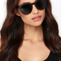 Woodzee Kate Black Bamboo Sunglasses