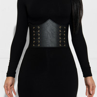 Milly Corset Black Belt