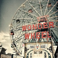 Fine Art Photography Coney Island NYC 8x12 Print by DeNueva