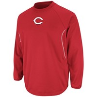 Majestic Cincinnati Reds Therma Base Tech Fleece - Men