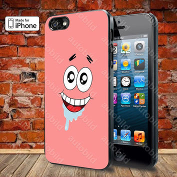 Patrick Star Case For iPhone 5, 5S, 5C, 4, 4S and Samsung Galaxy S3, S4