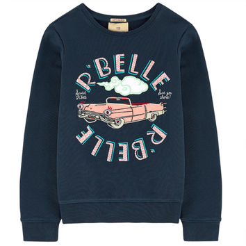 Scotch & Soda Navy Blue R'belle Sweatshirt