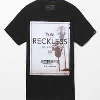 Young & Reckless Palm City T-Shirt - Mens Tee - Black
