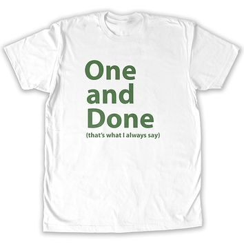 Function - St. Patrick's Day One and Done Men's Fashion T-Shirt