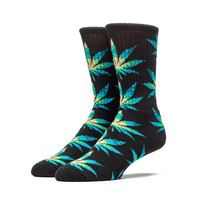 HUF - CABAZON CREW SOCKS // BLACK PLANTLIFE