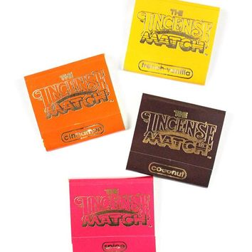 Incense Matches - Warm & Spicy (Pack of 4)