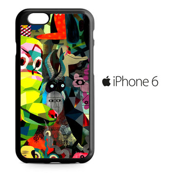 Psychedelic Abtraction Pattern iPhone 6 Case