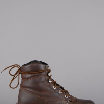 Walk Away Justin Leather Ankle Boots