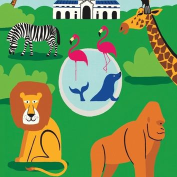 Zoo Mini Puzzle by New York Puzzle Co.