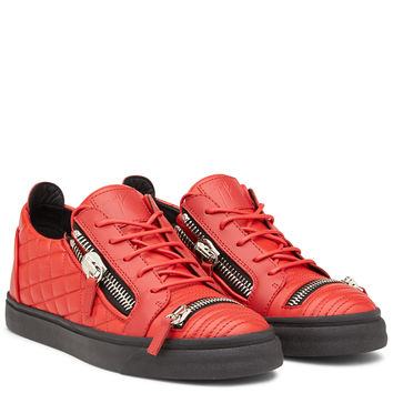 Dylan - Low Tops - Red | Giuseppe Zanotti ® Outlet