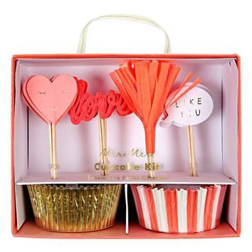 Valentine's Love Cupcake Kit