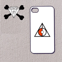 Deathly Pokeball  - Pokemon vs Harry Potter Deathly Hallows INSPired Art iphone case for iphone 4 / 4s, iphone 5 and more