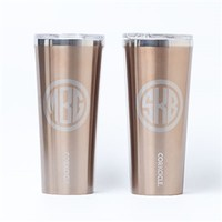 Monogram Corkcicle Tumbler | Mad for Monograms