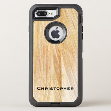 Light Brown Faux Stone OtterBox iPhone 7 Plus