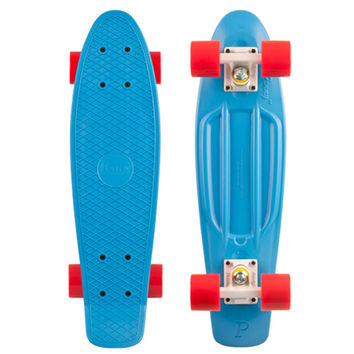 """Penny 22"""" Classic Blue Complete Skateboard"""
