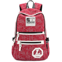 Stylish Canvas Backpack Travel Fashion Bag Daypack