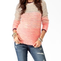 Chunky Multi-Colored Sweater
