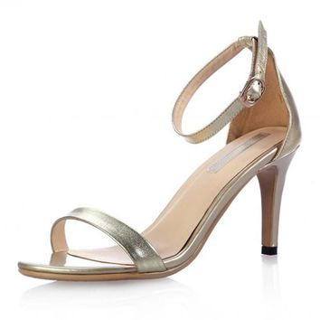 Women Classic High Heel Sandal Shoe