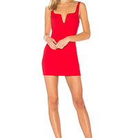 by the way. Cici Square Neck Mini Dress in Red | REVOLVE