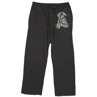 Sons Of Anarchy  Reaper Lounge Pants Black Rockabilia