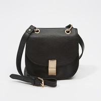 Womens Leather Mini Crossbody | Womens Accessories | Abercrombie.com