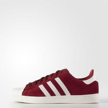 adidas Superstar Vulc ADV Shoes - Red | adidas US