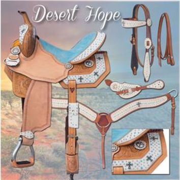 Silver Royal Desert Hope Barrel Saddle| The Saddle Company