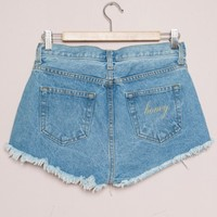 Adrian Honey Denim Shorts - Bottoms - Clothing