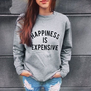 Unique Womens Casual Letter Sweater Top Gift-39