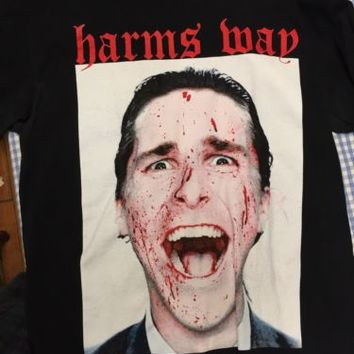 Harm's Way American Psycho T Shirt Size Large
