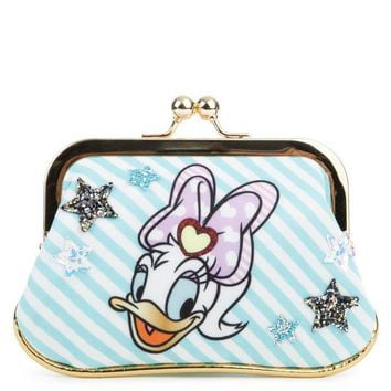 ESB8UH Irregular Choice Mickey Mouse & Friends Collection Women's So Pretty Mint Coin Purse