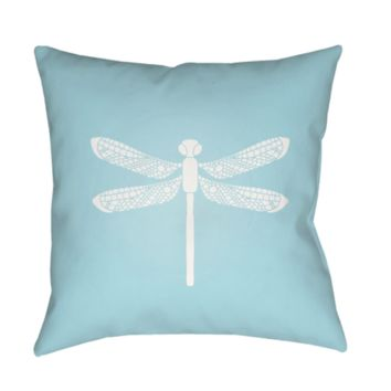 Dragonfly Pillow ~ Blue