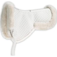 Roma® Merino Sheepskin Half Pad with Half Rolled Edges | Dover Saddlery