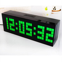 Large RED LED Digital Table Alarm Clock Wall Kitchen Decor Watch Date Snooze New