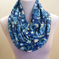 Starry Night Infinity Scarf, Van Gogh, Artist