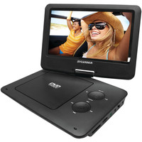 "Sylvania 9"" Portable Dvd Player With 5-hour Battery (black)"