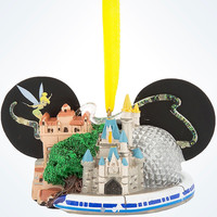 disney parks walt disney world by lirette ear hat ornament new with tag