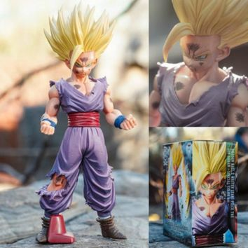 25cm Anime Dragon Ball Z Action Figures Super Saiyan Son Gohan Figuarts Dragonball Figurine Collectible Model Toy