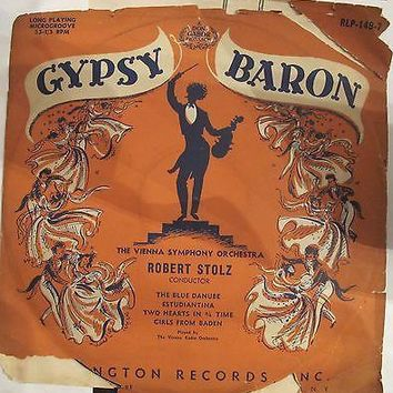 Gypsy Baron The Vienna symphony orchestra The blue danube Robert Stolz