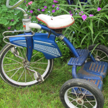 Antique Tricycle Murray Tricycle 3 Wheeler Bike 2 Step Tricycle Fender Skirt Bicycle Vintage Tricycle Ride on Toys 50s Bicycle Restoration