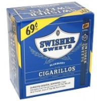 Swisher Sweets Cigarillos  $.69 Blue Berry