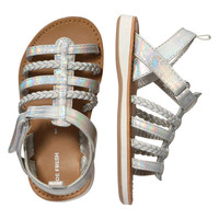 Joe Fresh Baby Girls' Metallic Sandals
