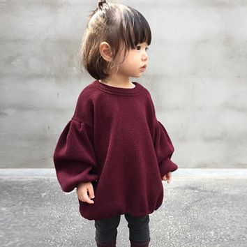 Toddler Oversized Jumper