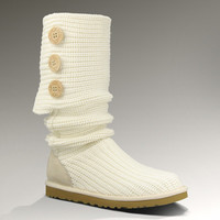 UGG® Classic Cardy for Women | Crochet Knit Boots at UGGAustralia.com