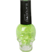 Blackheart Lime Splatter Glow-In-The-Dark Nail Polish