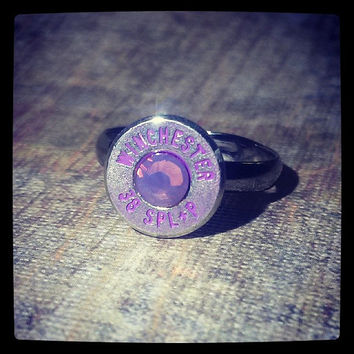 Perfectly Purple Bullet Ring