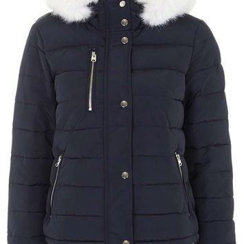 Quilted Jacket - Topshop