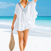 Embellished Caftan Cover-up - Beach Sexy - Victoria's Secret