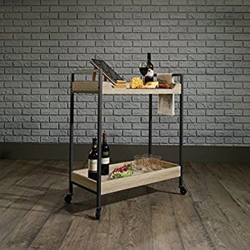 Sauder North Avenue Bar Cart in Charter Oak